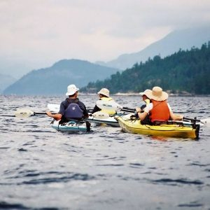 Kayaking Sechelt Inlet