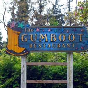The Gumboot restaurant in Robert's Creek